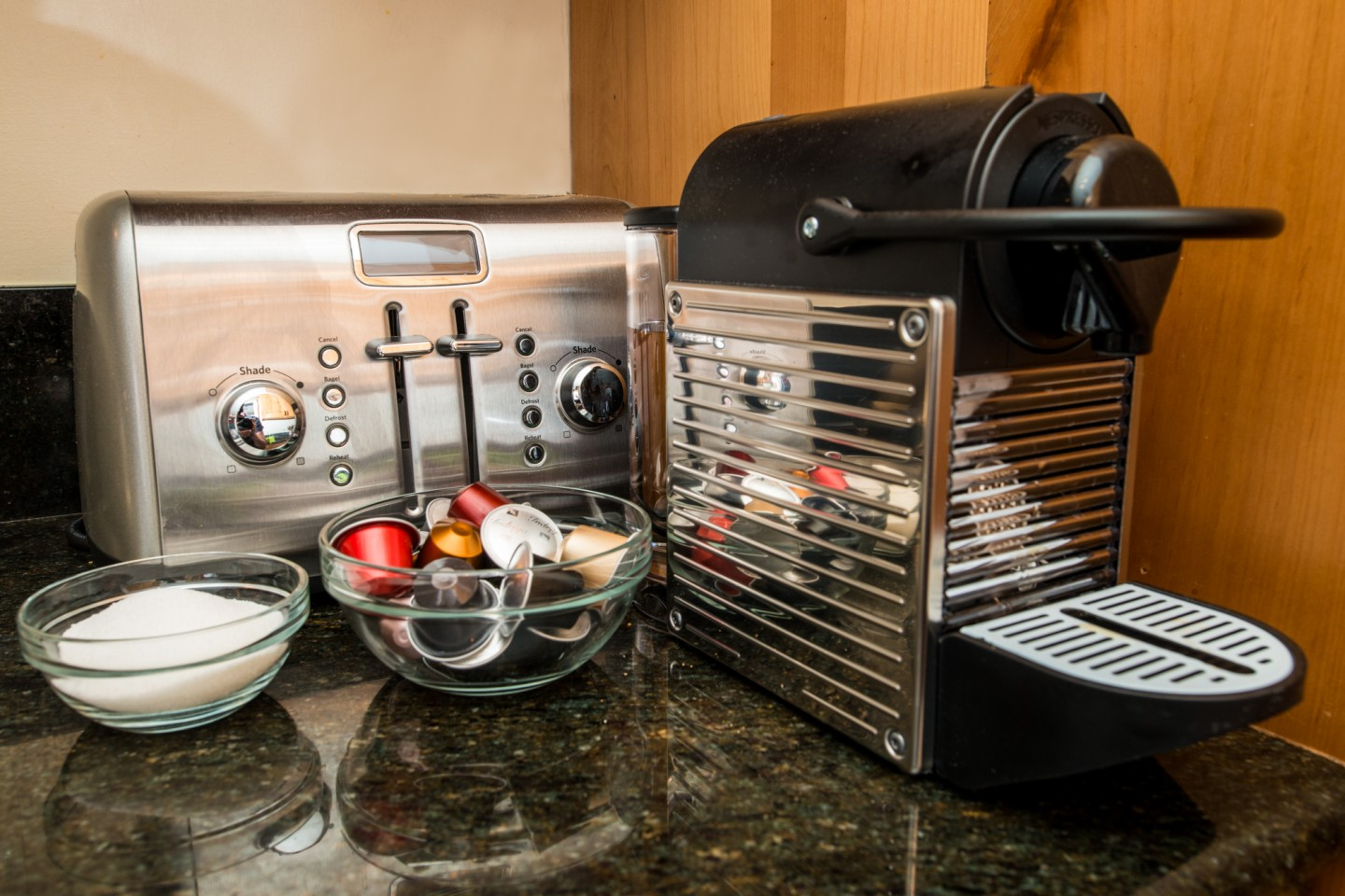 Quality bench top appliances and kitchenware